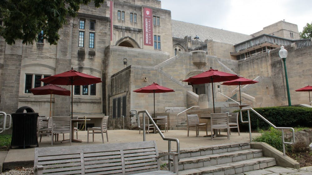 The outside of the Indiana Memorial Union is pictured. Current international students offer tips for incoming international students.