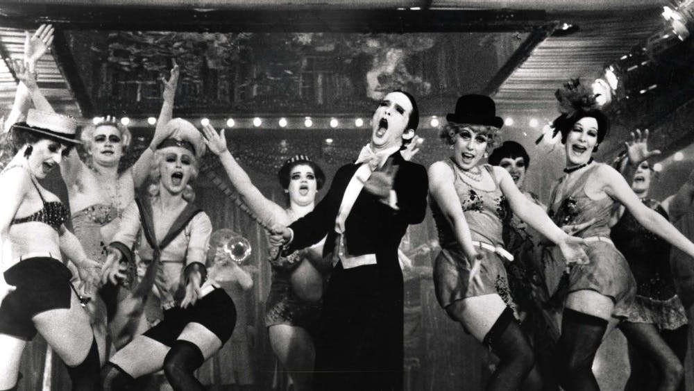 """Joel Grey performs in the 1972 film """"Cabaret."""" The musical version is coming March 20 and 21 to the IU Auditorium."""