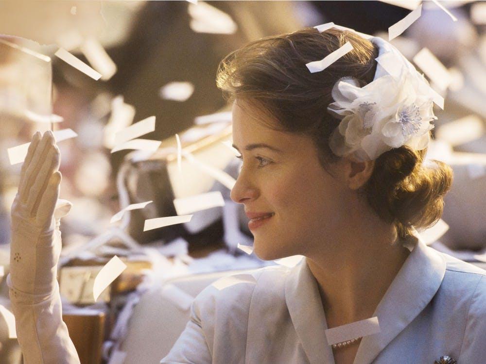 "Claire Foy plays Queen Elizabeth II in Netflix's series, ""The Crown,"" premiering Friday. (Alex Bailey/Netflix)"