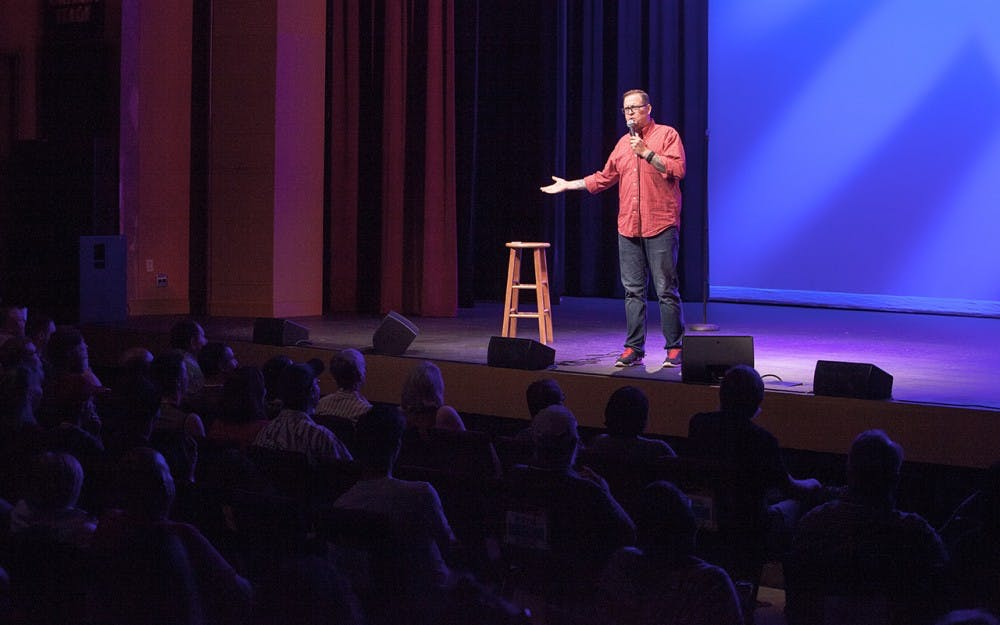 <p>Bob Nugent is a comedian based in Bloomington. His podcast 'History Bluffs' has featured a variety of comedians, and he will perform alongside three other comedians during the latest High Proof Laughs event at Cardinal Spirits.</p>