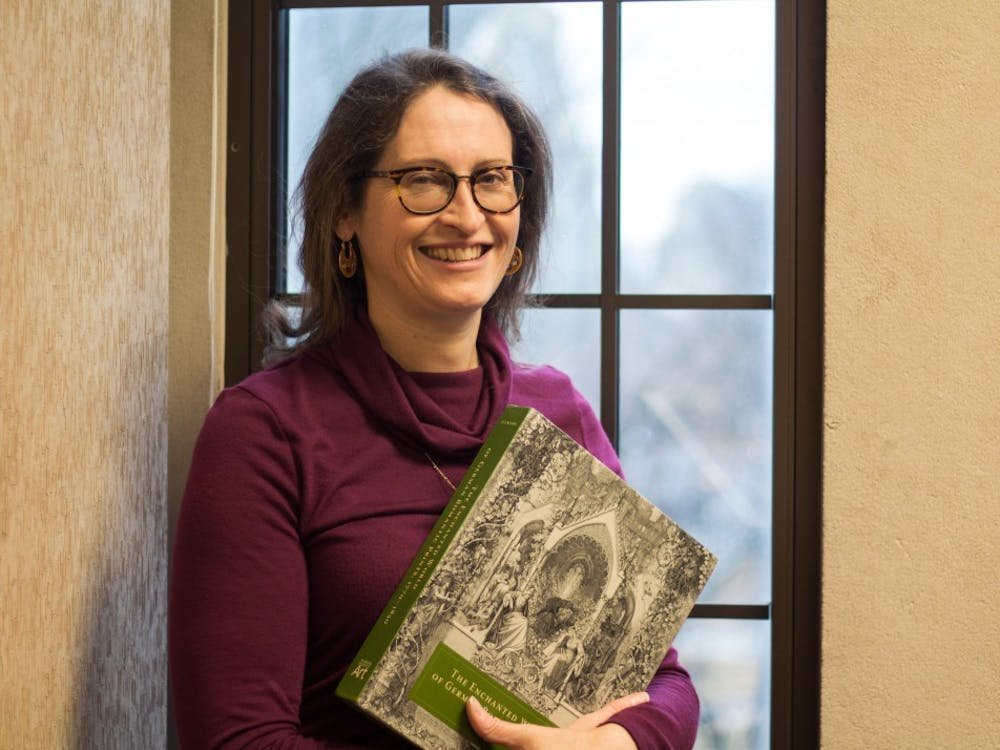 """Cordula Grewe, associate professor in the Department of Art History, co-edited the catalog """"The Enchanted World of German Romantic Prints 1770-1850."""" The catalog features prints and printmakers selected by Grewe and her co-editor, Curator of Prints John Ittmann."""