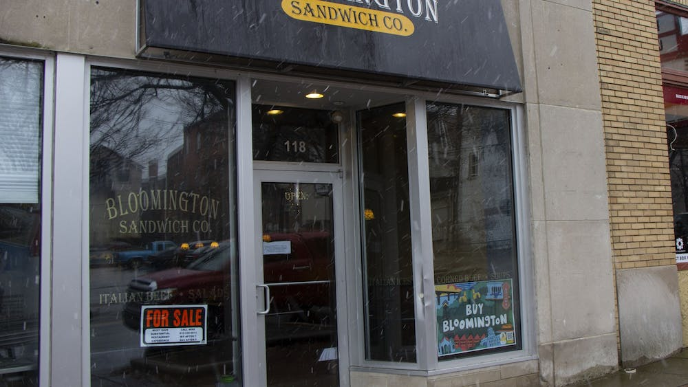 The Bloomington Sandwich Company closed Nov. 25.