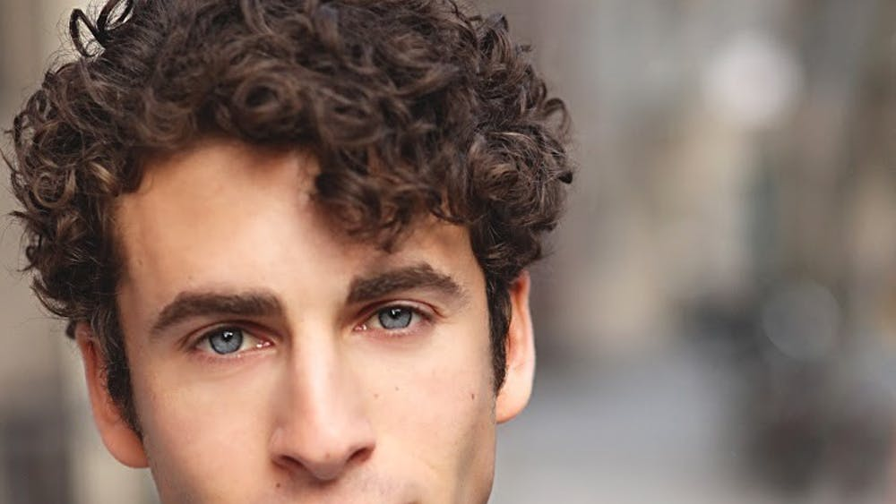 """ActorDanny HarrisKornfeld, whoplays Mark Cohen in the 20th anniversary tour of the musical """"Rent."""" Kornfeld said he identifies with his character because they both want to do workthat isfulfilling and sends a worthwhile message."""