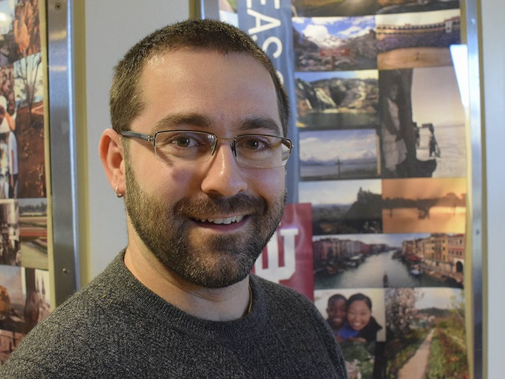 """Thomas DeCarlo, communication coordinator for the IU Office of Overseas Study, is beginning production of his short animated film, """"The Encounter."""" DeCarlo gets a lot of his influence for his work from various Disney filmas and would be open to working at Pixar in the future."""
