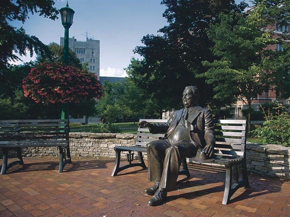 Herman B Wells was the 11th president of IU.