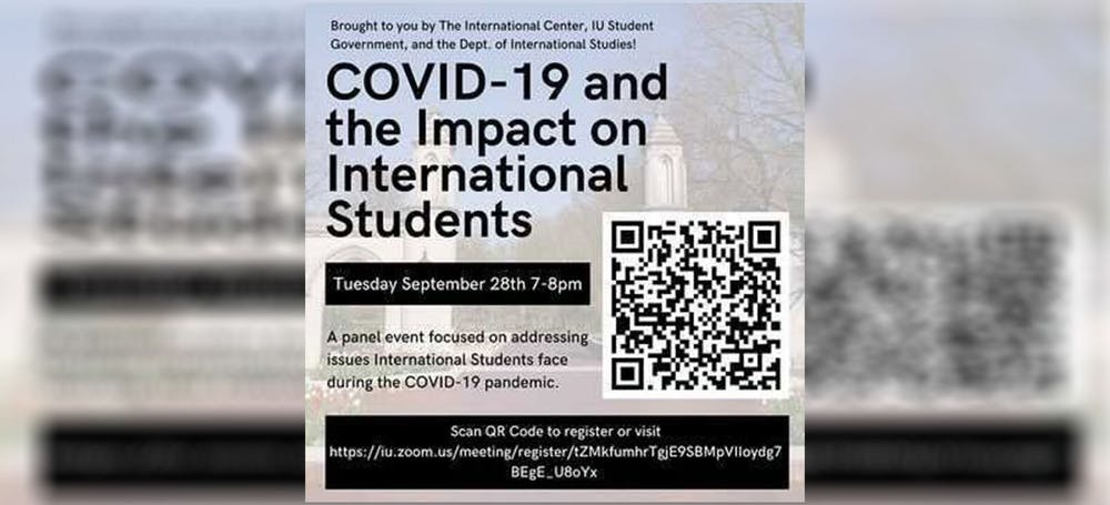 <p>The COVID-19 and the Impact on International Students panel will take place on Sept. 28 through Zoom. The panel will address issues international students faced during the COVID-19 pandemic, featuring two faculty and two student speakers.</p>