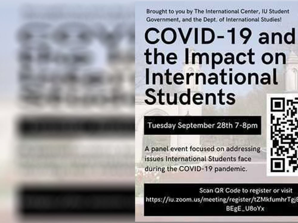 The COVID-19 and the Impact on International Students panel will take place on Sept. 28 through Zoom. The panel will address issues international students faced during the COVID-19 pandemic, featuring two faculty and two student speakers.