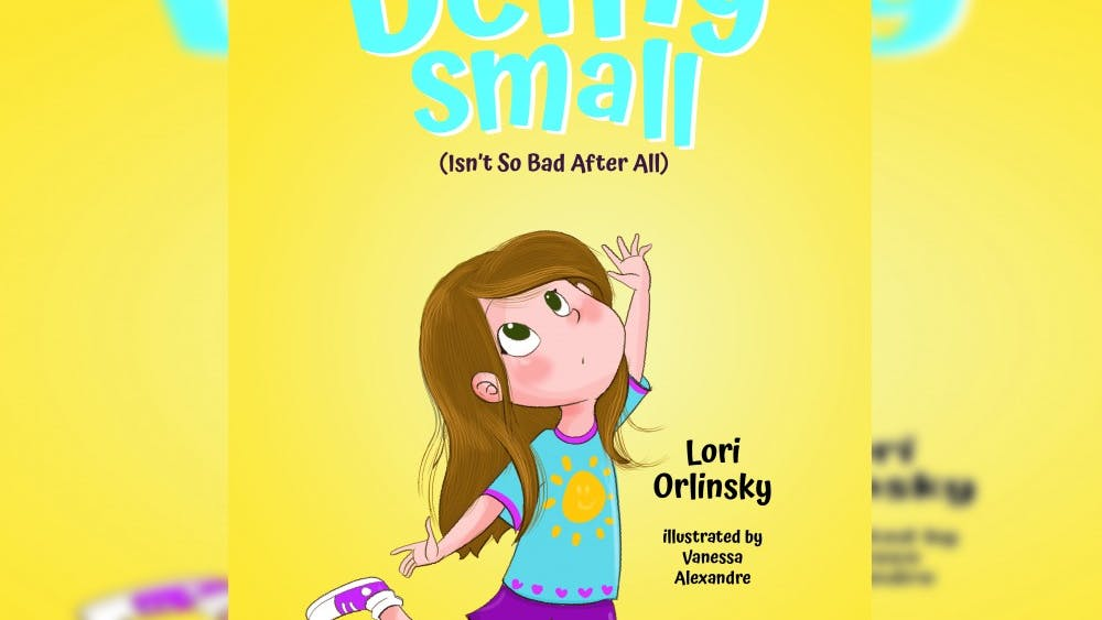 "IU alumna Lori Orlinsky's first children's book, ""Being Small (Isn't so Bad After All),"" will be released April 16. Orlinsky graduated from IU in 2005 with a bachelor's degree in journalism."
