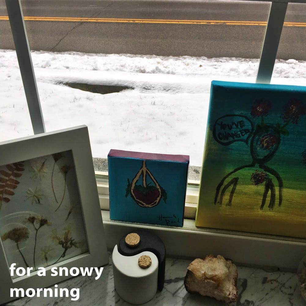 """<p>""""For a snowy morning"""" is a Spotify playlist made to listen to on a snowy day.&nbsp;</p>"""