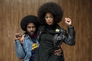 """BlacKkKlansman,"" directed by Spike Lee, was released Aug. 10 in the U.S. and features John David Washington, Laura Harrier and Adam Driver."