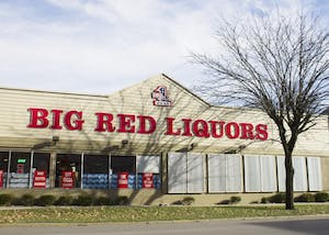 Big Red Liquors is located on North College Avenue. Big Red Liquors launched its own delivery app Aug. 20 with on-demand alcohol delivery and mobile ordering for in-store pick up.