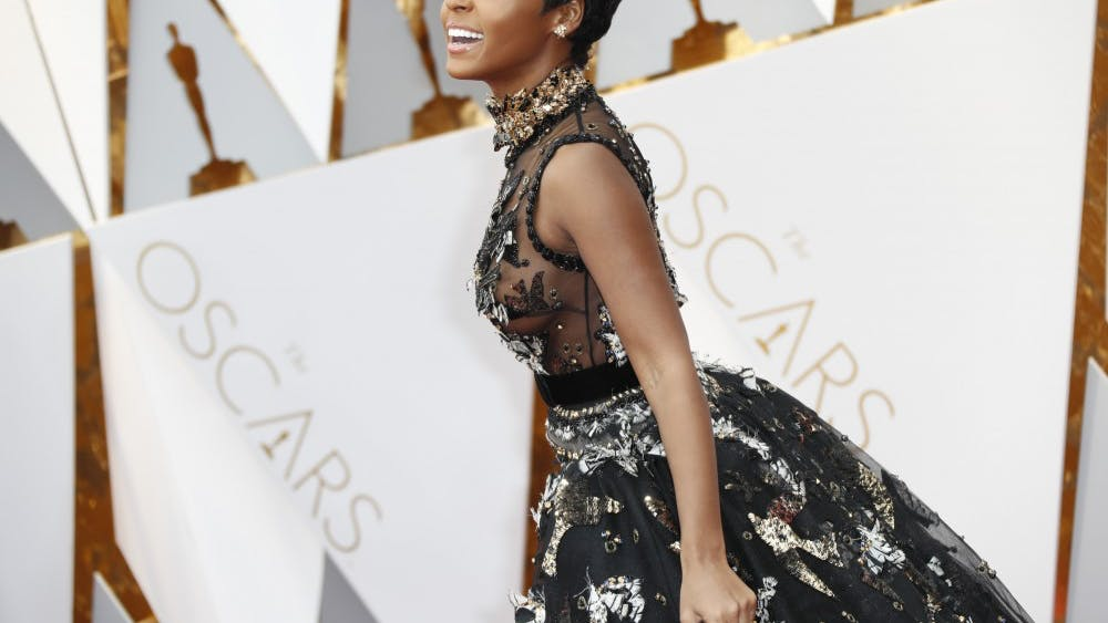 "Janelle Monáe arrives at the 89th Academy Awards in 2017. Monáe released her third studio album, ""Dirty Computer,"" earlier this year."