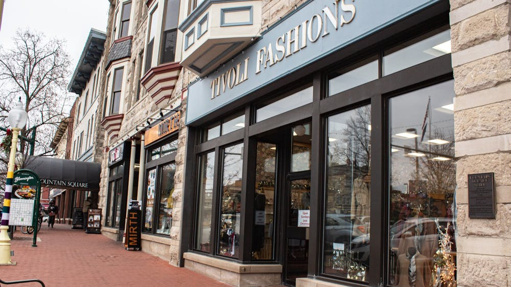 Tivoli Fashions is pictured Dec. 6 at 101 W. Kirkwood Ave.