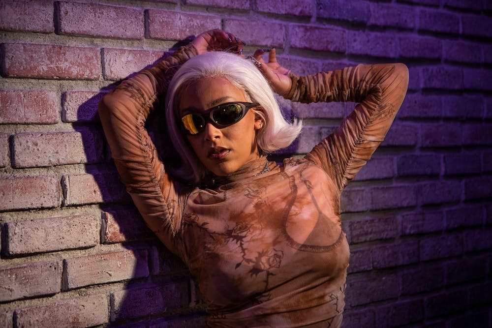 Doja Cat is photographed at Sound Factory in Los Angeles.