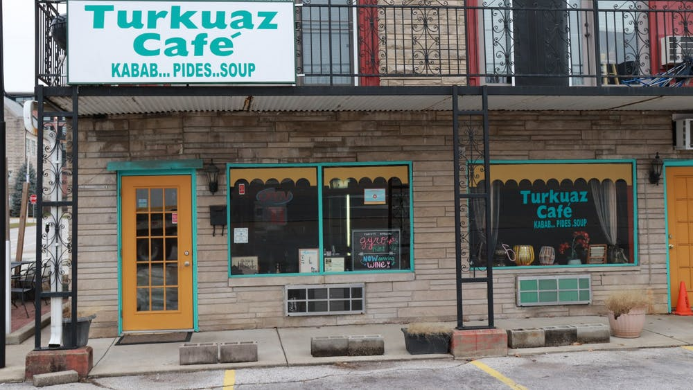 Turkuaz Café is located at 301 E. Third St. Restaurants must strictly obey social distancing guidelines.