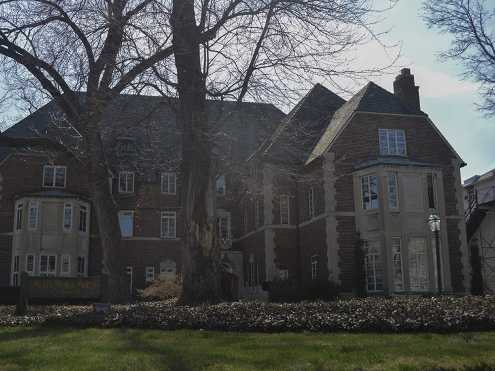 The Delta Delta Delta house sits on Third Street. TheIU Delta Omicron chapter of Delta Delta Delta was revoked Saturday after the groups's national organization said the IU members' activities clashed with Tri Delt's high standards and purpose.