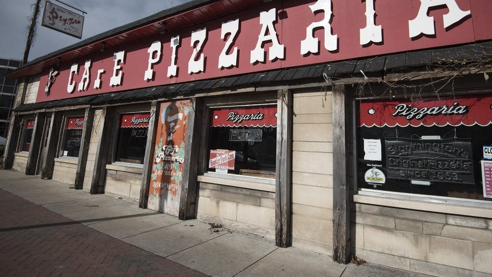Cafe Pizzeria opened in 1953 and sells pizza, stromboli, sandwiches and burgers. The shop is located on Kirkwood Ave.