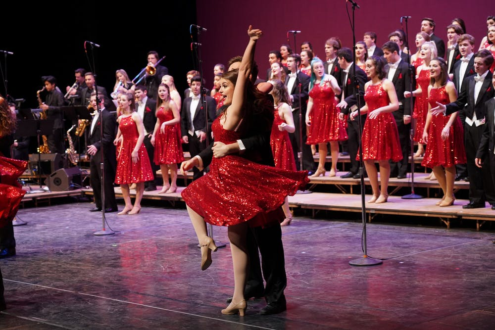 <p>The Singing Hoosiers a cappella group performs its 2019 spring concert. Singing Hoosiers will perform &quot;Hoosiers Live At Home&quot; 6-8 p.m. Sunday on WFIU.</p><p><br/></p>