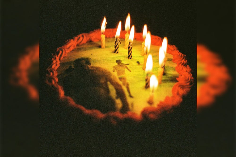 """<p>The album cover for Ratboys&#x27; """"Happy Birthday, Ratboy"""" features a birthday cake with burning candles. The band released the surprise album April 1.</p>"""