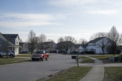 Houses are seen Jan. 26 on South Glasgow Circle in Bloomington. The IU Police Department and the Bloomington Police Department have provided tips on how students can prevent burglaries while they are gone.