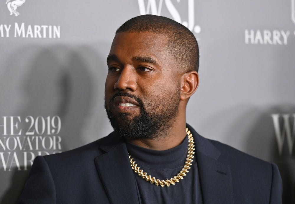<p>Rapper Kanye West attends the 2019 WSJ. Magazine Innovator Awards at the Museum of Modern Art on Nov. 6, 2019 in New York City. </p>