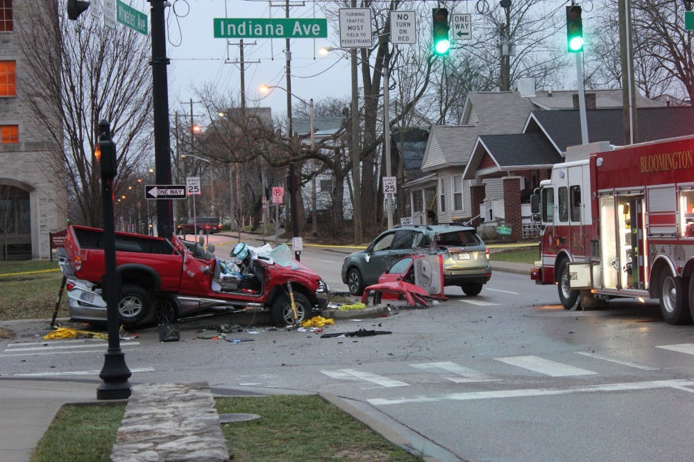 Crash at Henderson Street and Atwater Avenue caused by drunken