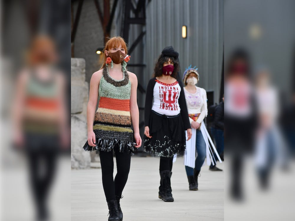 Since 2010, the Bloomington Trashion Committee has planned annual runway shows.The annual Trashion Refashion Runway Show highlighting sustainable fashion designs created by Bloomington community members will take place Sunday night at Switchyard Park Pavilion.