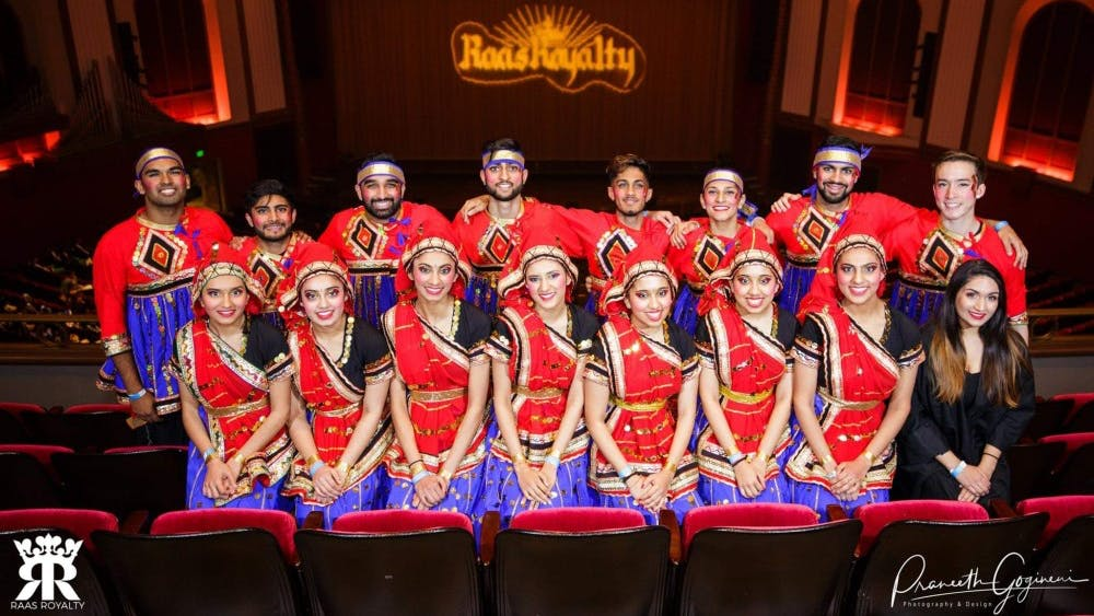 Raas Royalty, an Indian dance competition, will take place March 2 in the IU Auditorium.