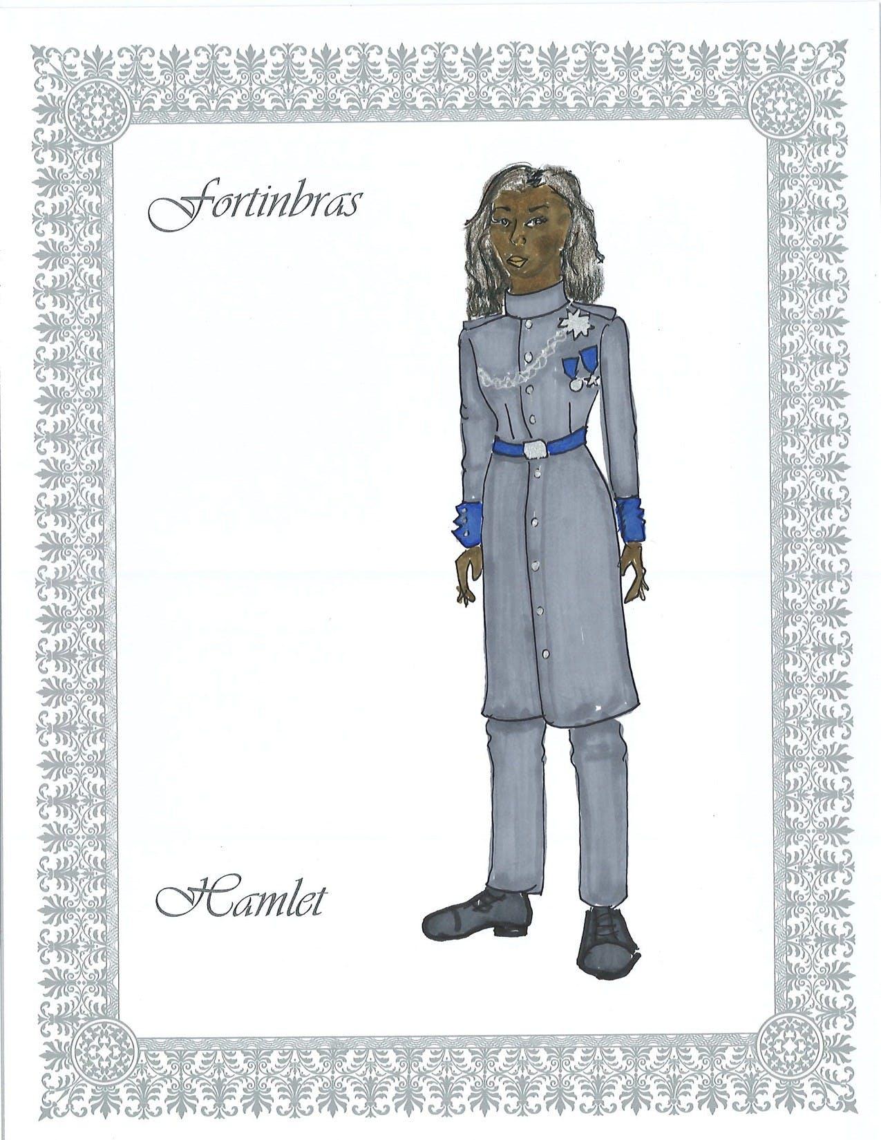 Fortinbras costume design