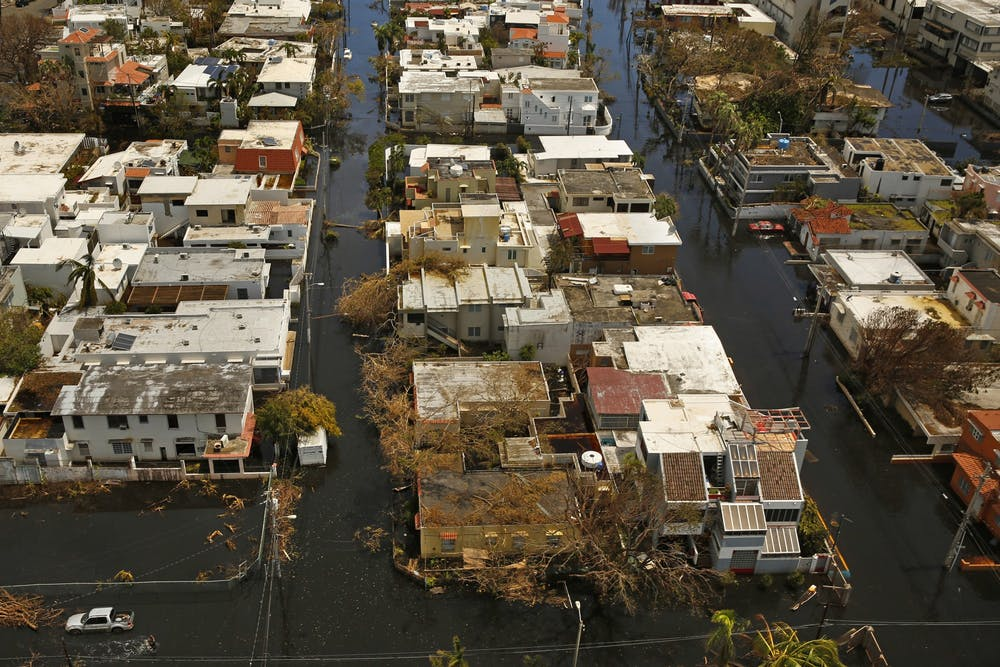 <p>Nearly one week after Hurricane Maria devastated the island of Puerto Rico, residents were still trying to get the basics of food, water, gas and money from banks. More than two years later, the island&#x27;s infrastructure is at a breaking point. </p>