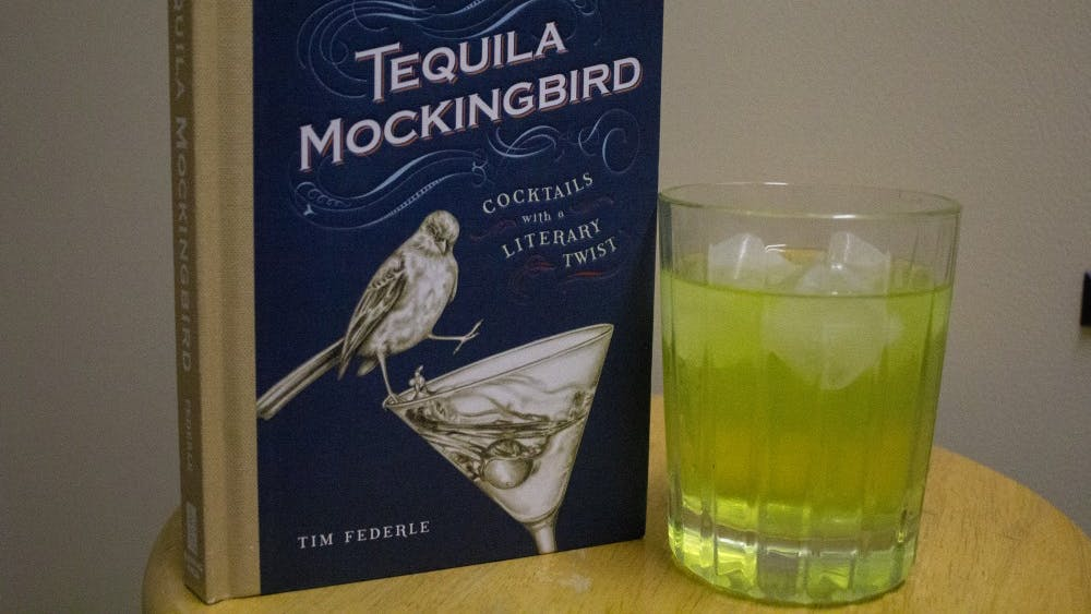 """""""Tequila Mockingbird: Cocktails with a Literary Twist"""" was written by Tim Federle. It was published in 2013."""