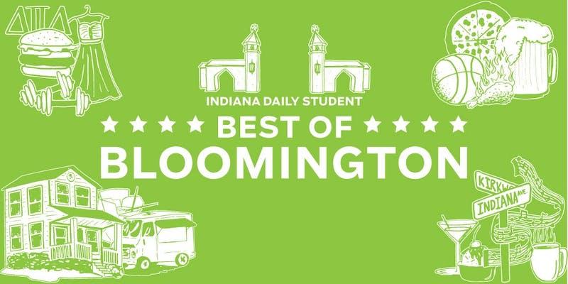 Best of Bloomington 2014 voting