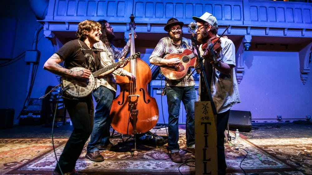 Folk and bluegrass band The Tillers will perform at 9 p.m. Saturday at the Bishop Bar.