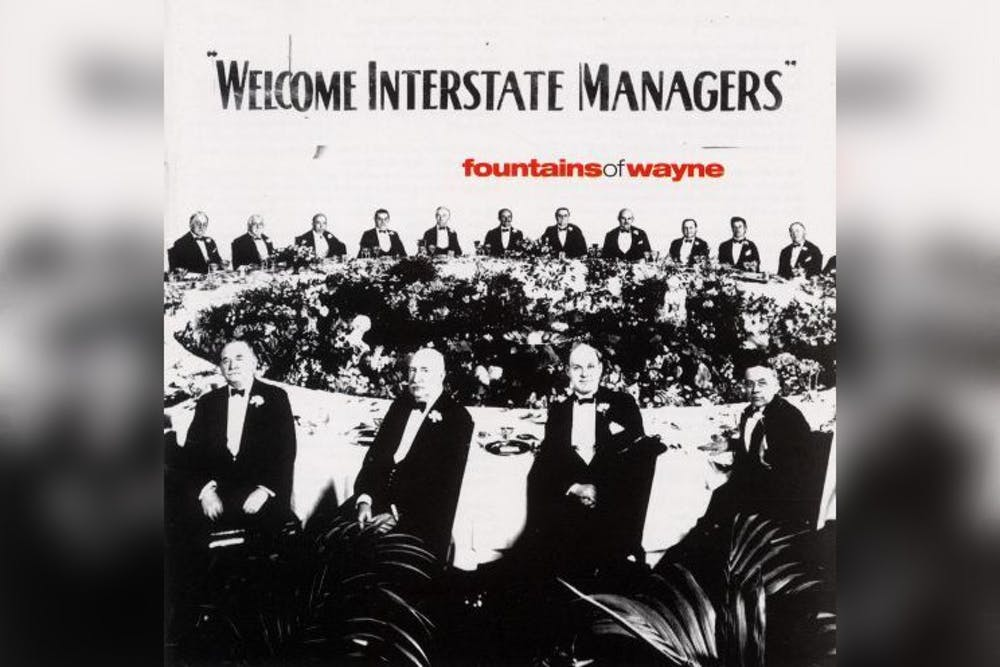<p>The cover of Fountains of Wayne&#x27;s album &quot;Welcome Interstate Managers&quot; is pictured. The album includes &quot;Stacy&#x27;s Mom&quot; - the band&#x27;s highest-charting hit in the U.S. </p>
