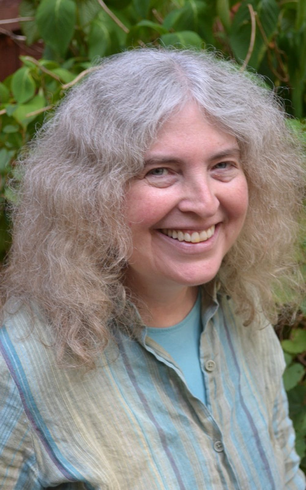 <p>Amy Kaufman Burk, 58, will be donating 50 percent of the profits from her two novels to the LGBTQ+ Culture Center during March. Her novels explore LGBT themes, and she said the center at IU is a model organization to donate to.</p>