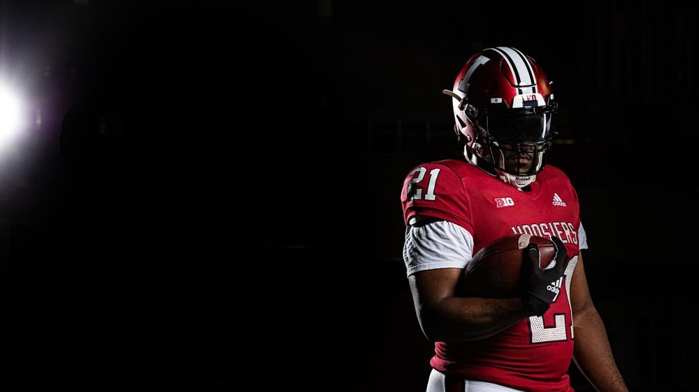 <p>No. 17 ranked IU football will wear throwback uniforms for its home matchup against No. 8 ranked University of Cincinnati on Sept. 18. The uniforms are inspired by the IU teams of the 1980s and 1990s, according to an IU Athletics press release.</p>