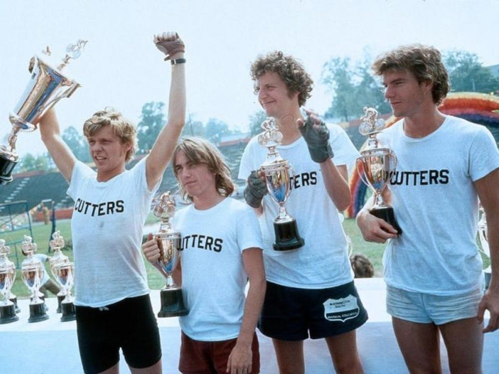 """""""Breaking Away"""" will be playing at the Buskirk-Chumley theater, along with """"Hoosiers"""" and """"Rudy"""" from Aug. 18-18. Tickets to each screening are $5."""