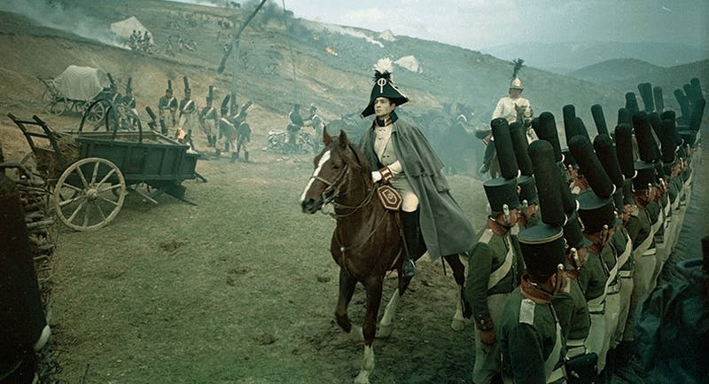 """A still from the film """"War and Peace."""""""