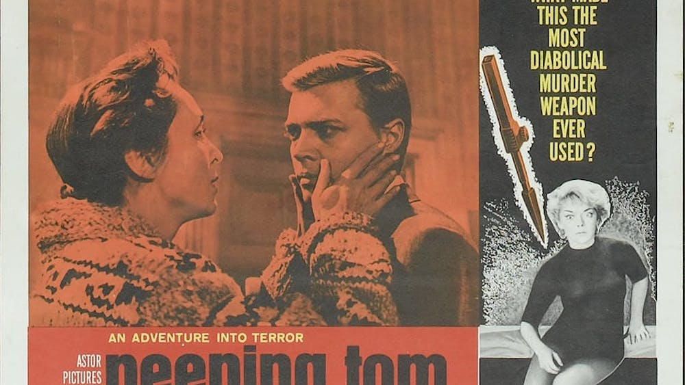 """1960 thriller """"Peeping Tom"""" has inspired many of today's most successful directors."""