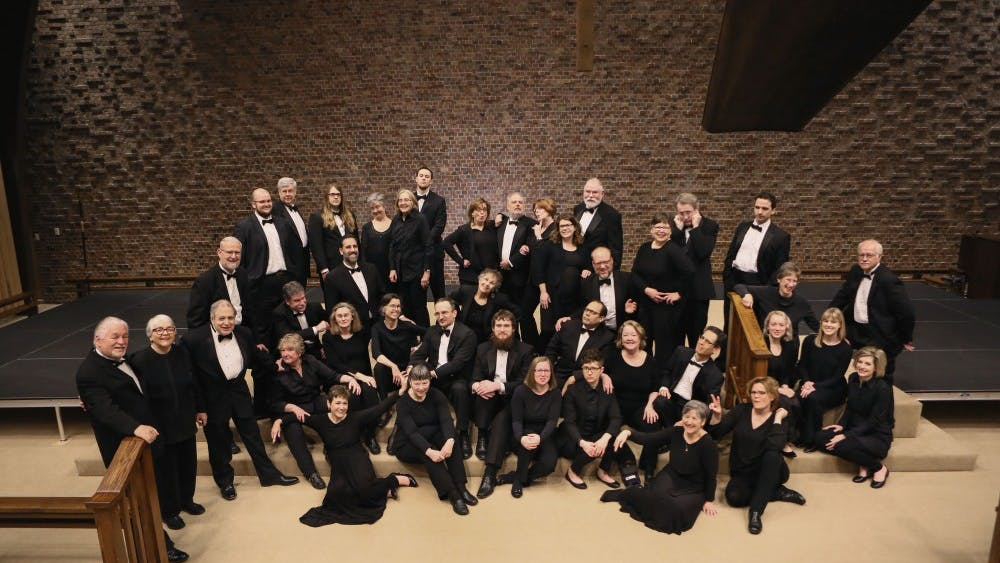 """The Bloomington Chamber Singers will be presenting """"Our Favorite Things,"""" a concert featuring the performers' favorite pieces, at 7:30 p.m. Nov. 16 at St. Mark's United Methodist Church. The group is celebrating its 50th anniversary."""