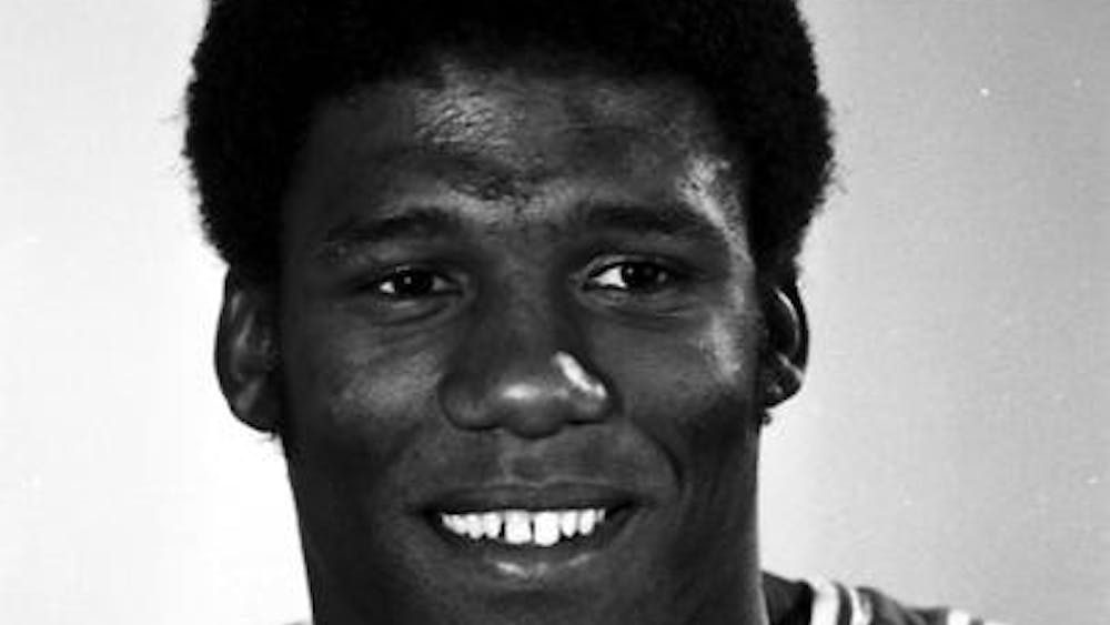 Former IU men's basketball player Wayne Radford is pictured in 1976. Radford was a member of the 1976 undefeated national championship team.