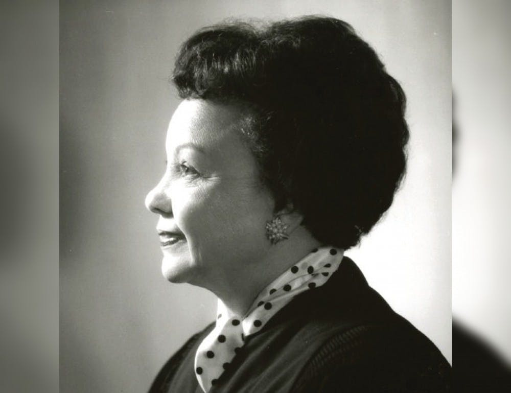 <p>The IU Maurer School of Law announced the Juanita Kidd Stout Professorship, which is named after IU alumna Juanita Kidd Stout, who was the first black woman to serve on a state supreme court. The professorship was made to recognize a black woman&#x27;s achievement, according to an IU press release.</p>