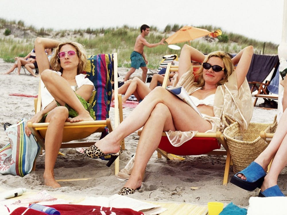 "In one particularly famous episode, the women of ""Sex and the City"" head to the beach to crash a college spring break."