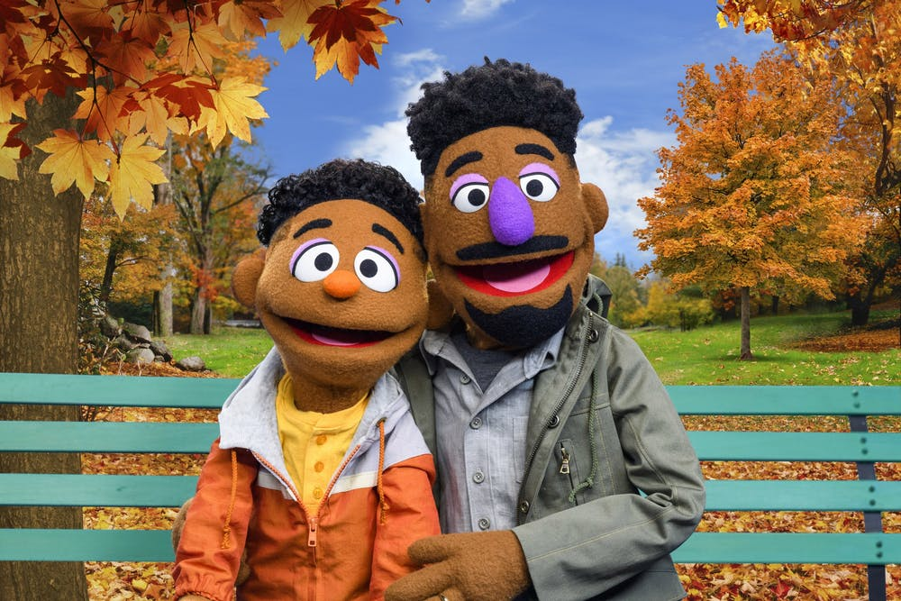 <p>Wes and Elijah, two new additions to Sesame Street&#x27;s cast of muppets, appear. The characters will star in the new series &quot;ABCs of Racial Literacy.&quot;</p>