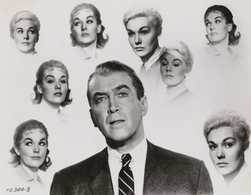 """The 1958 Alfred Hitchcock-directed classic suspense thriller, """"Vertigo,"""" will be screened at 7:30 p.m. Feb. 22 at the Buskirk-Chumley Theater."""