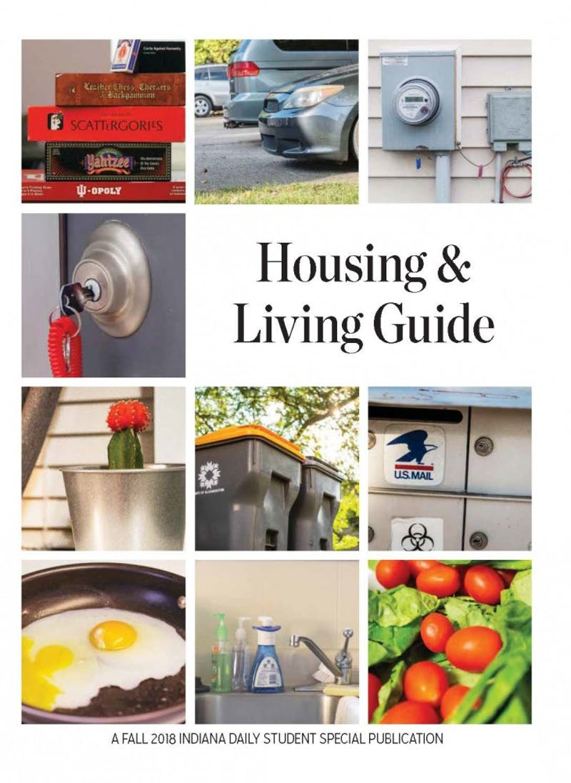 Housing & Living Guide | Fall 2018