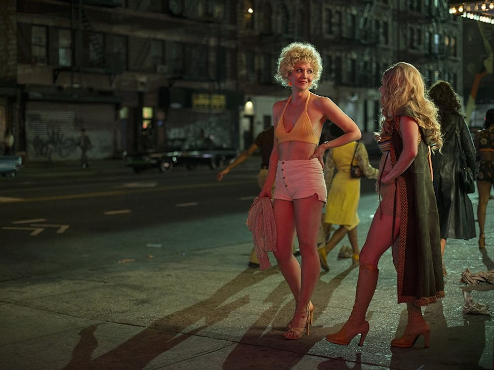 """James Franco and Maggie Gyllenhaal star in """"The Deuce,"""" an HBO show set in 1971. Its first season premiered Sept. 10."""