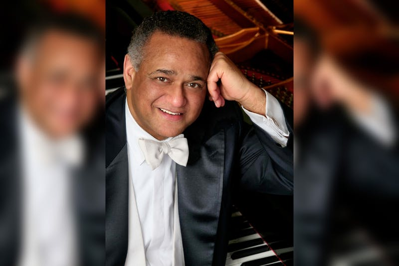 Grammy-award winning pianist and IU professor Andre Watts poses for a photo. Watts has been elected into the American Philosophical Society.