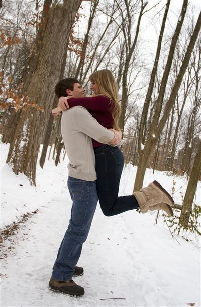 Rachel Hoopingarner and her fiancé Tyler Roach got engaged in November, and the couple has been planning the wedding as Rachel finishes her senior year at IU.
