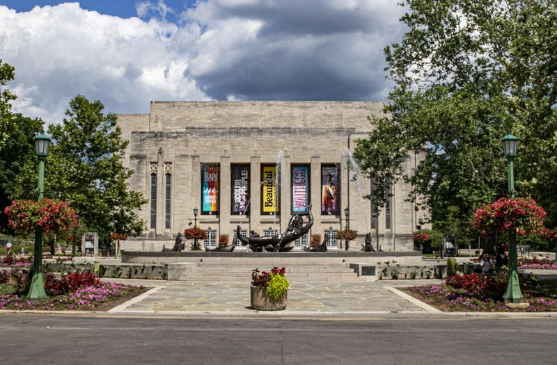 """The IU Auditorium is located at 1211 E. Seventh St. IU alumna and Broadway actress Elizabeth Stanley stars in the Broadway musical """"Jagged Little Pill."""""""